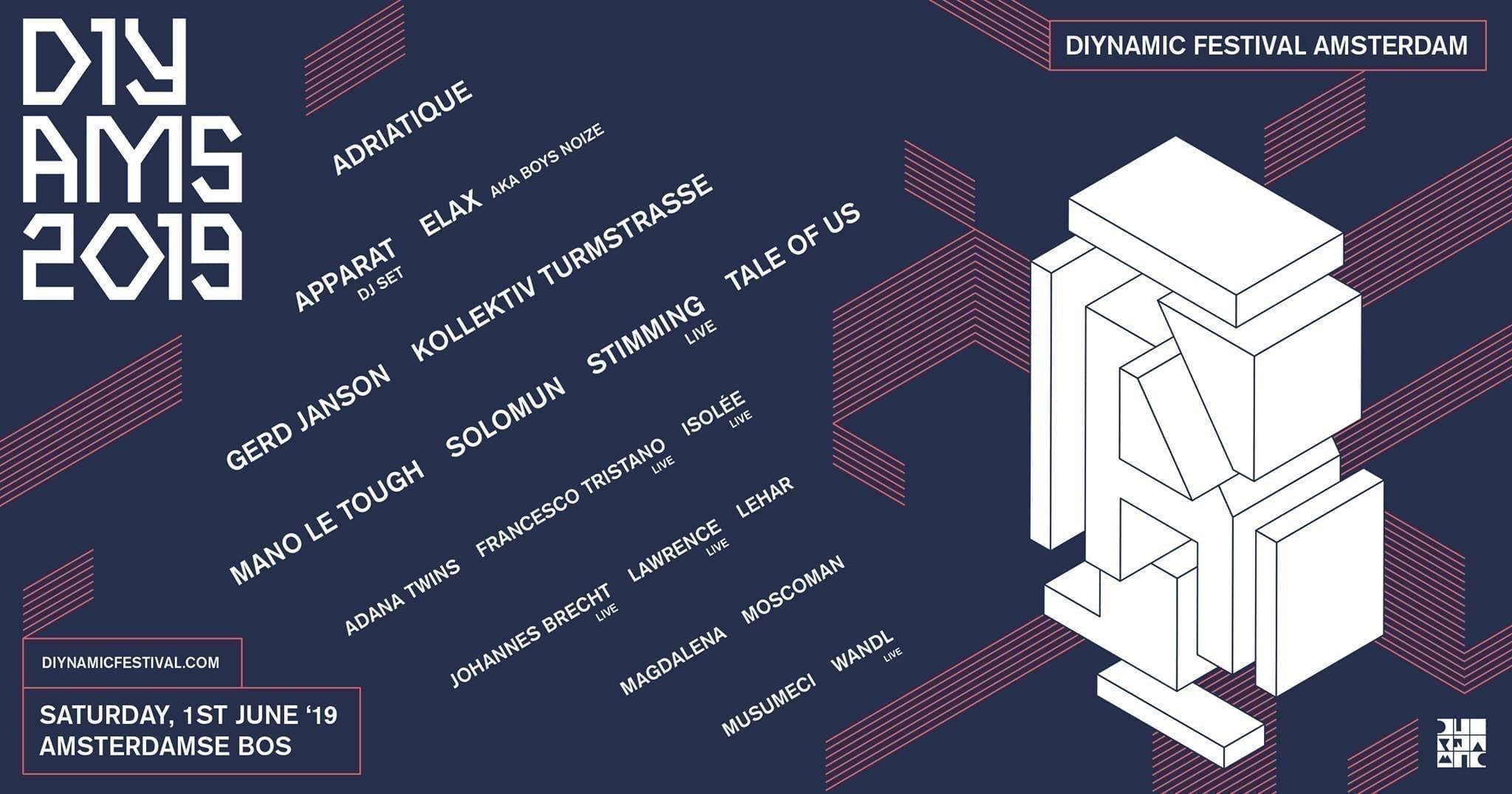 Diynamic Festival Amsterdam 2019