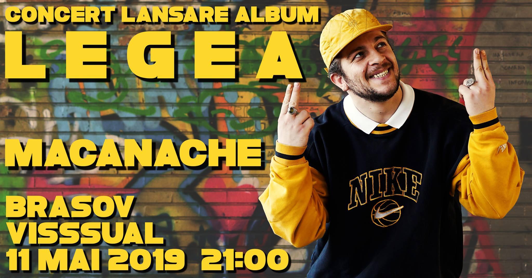 Concert Lansare Album LEGEA | Macanache & Siberia