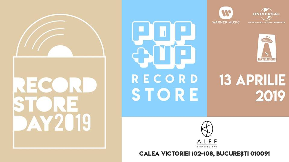 Record Store Day // 13 Aprilie // ALEF Espresso Bar