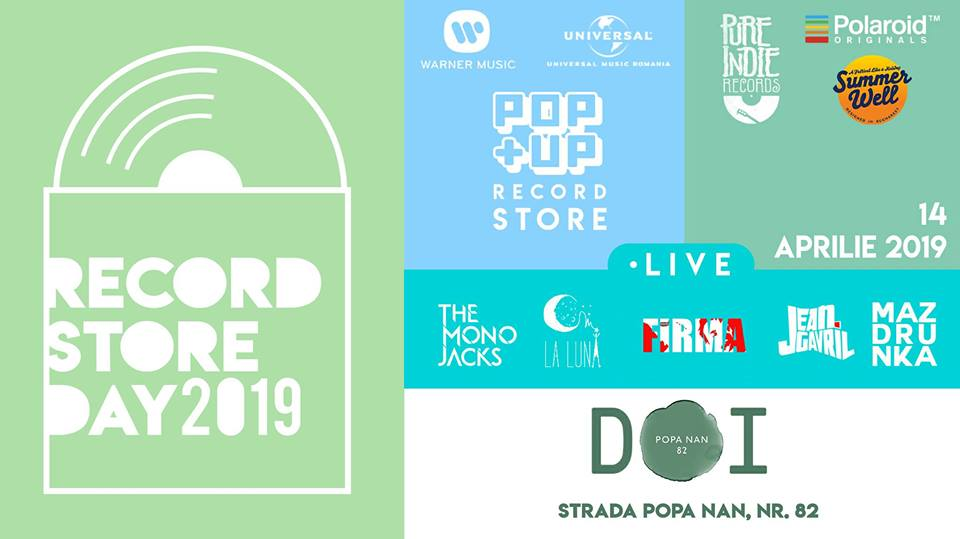 Record Store Day // 14 Aprilie // DOI, str. Popa Nan nr. 82