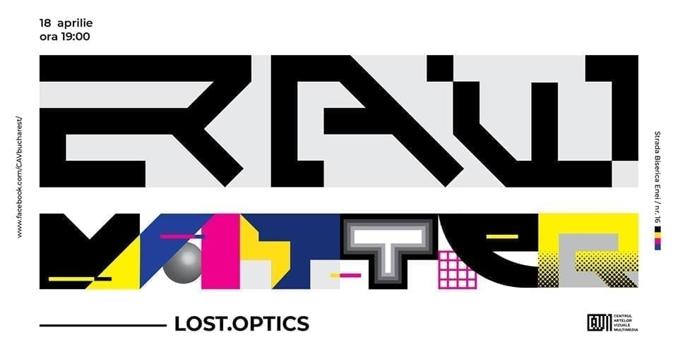 Raw Matter- Lost.Optics
