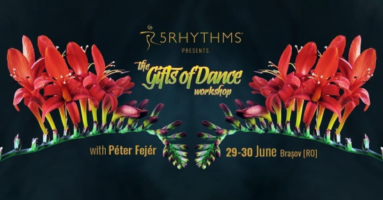 The Gifts of Dance - atelier 5Rhythms Brasov cu Péter Fejér