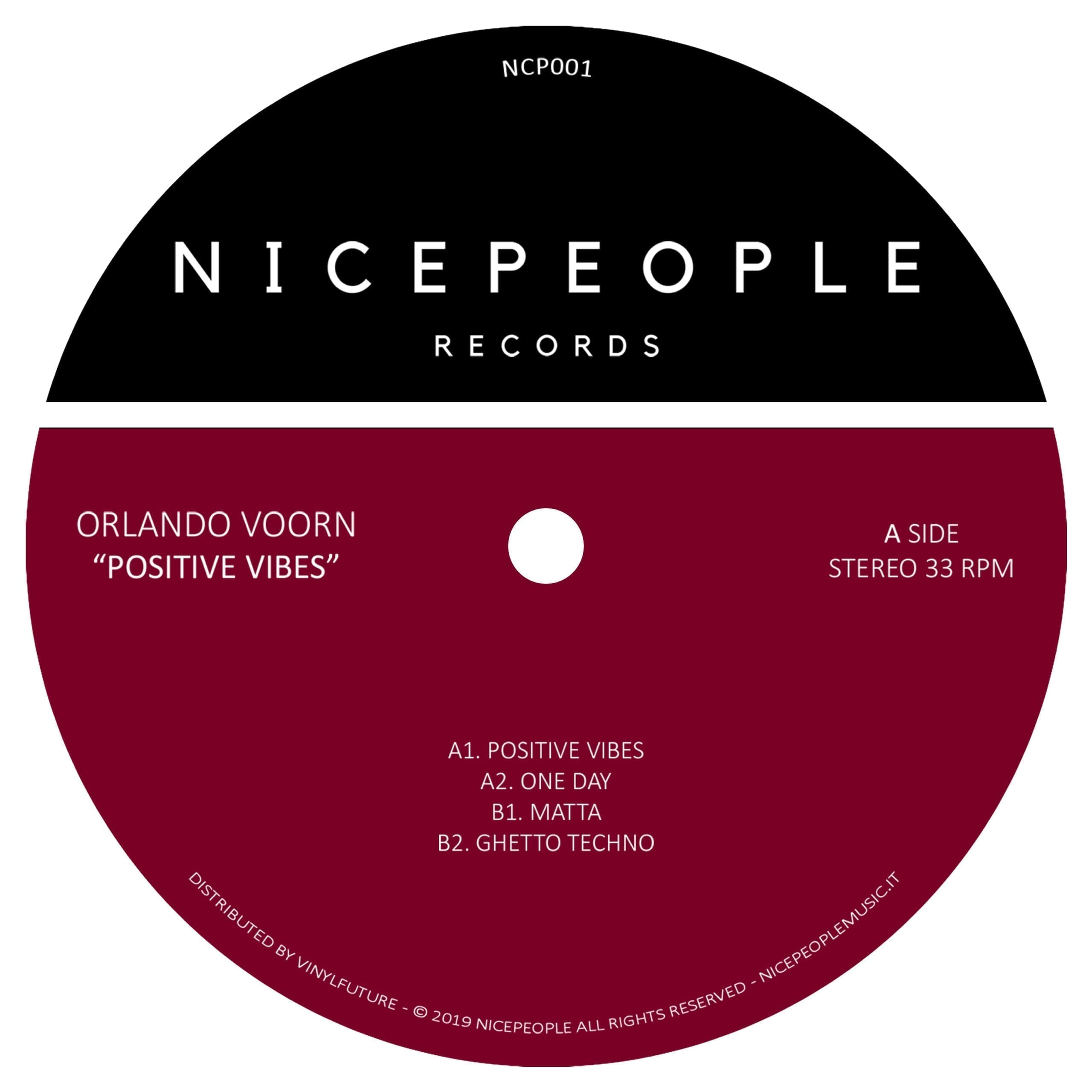 Orlando Voorn drops brand-new 'Positive Vibes' EP on NICEPEOPLE