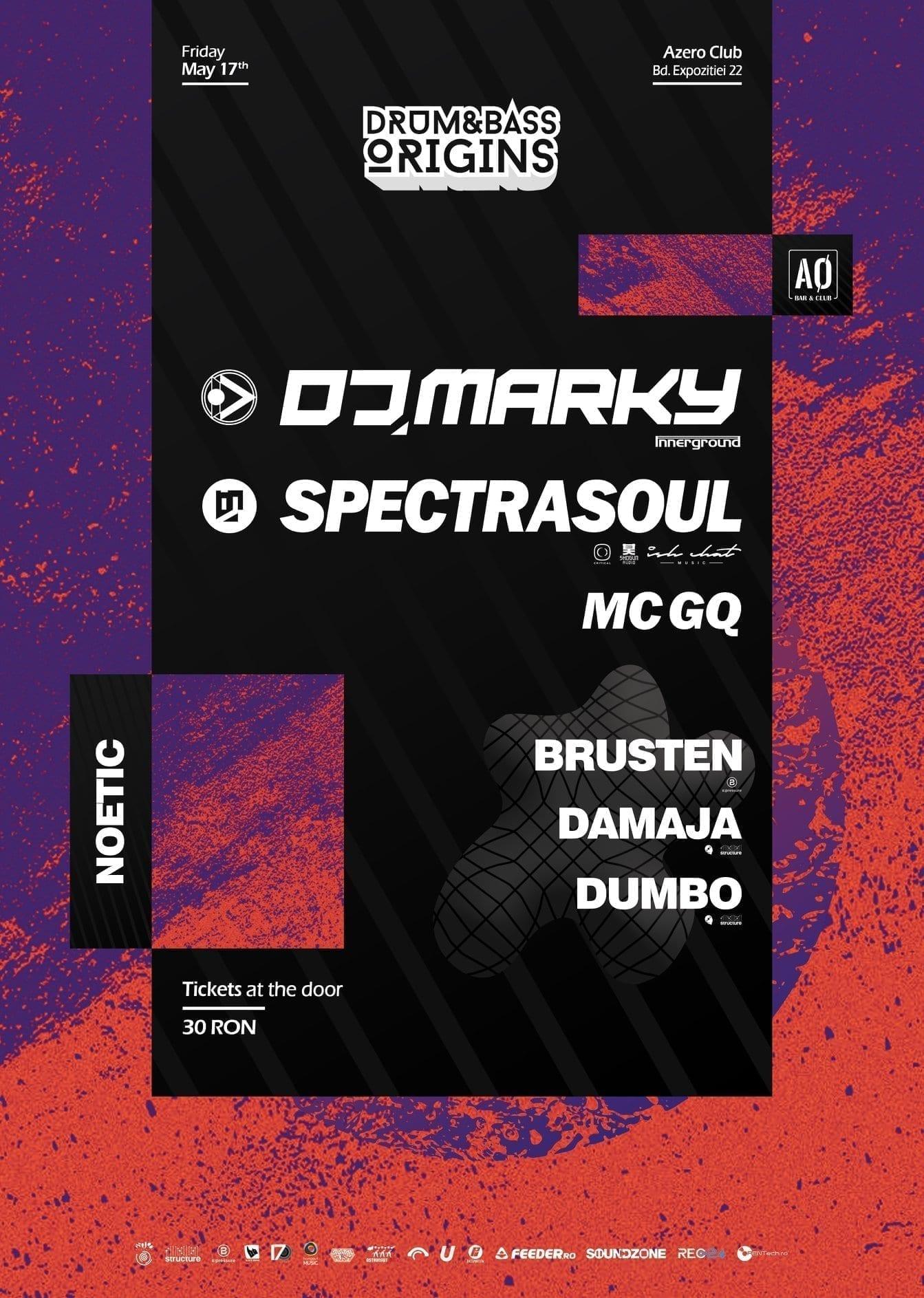 DJ Marky & SpectraSoul / hosted by MC GQ