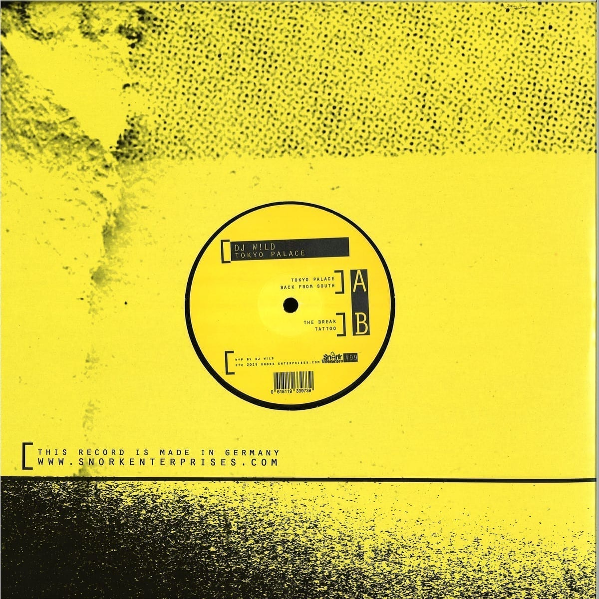 DJ WILD - Tokyo Palace [Snork Enterprises] back