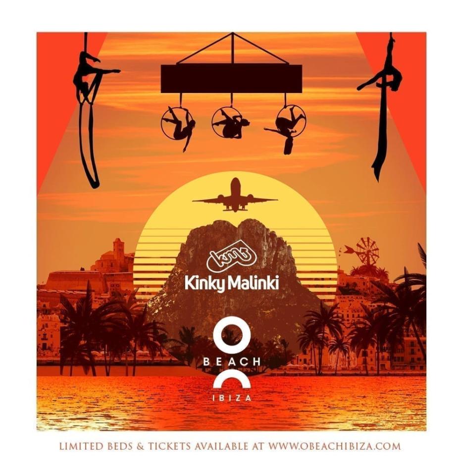 Kinky Malinki at O Beach Ibiza presents Amine Edge & DANCE