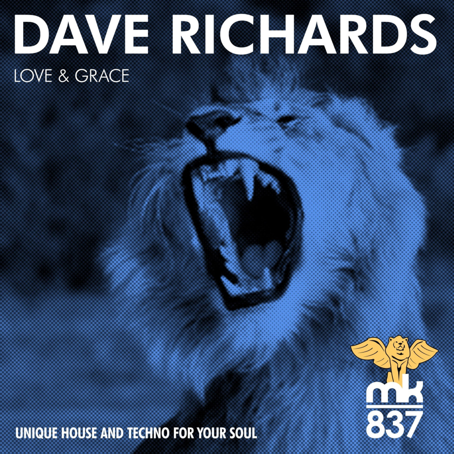 """Dave Richards presents """"Love & Grace"""" with remixes by J Lauda, Samuel Zamora & Yered Ponce"""