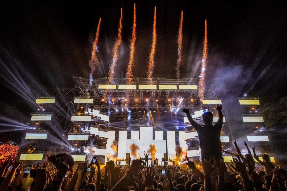 D-Edge Announce Collaboration With Serbia's Exit Festival Martin Garrix