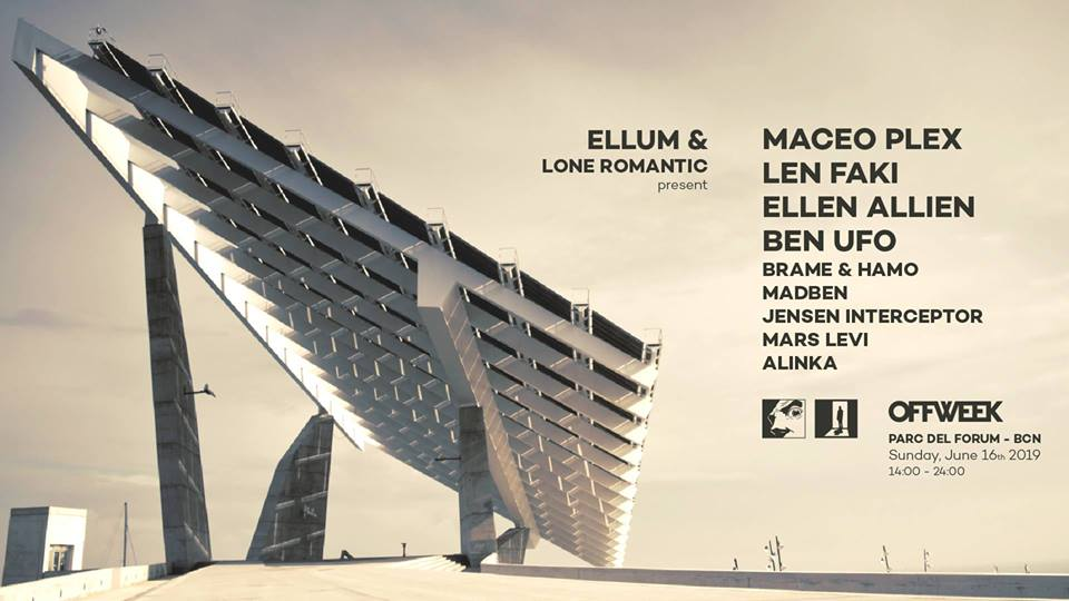Off Week Festival‎ - Maceo Plex presents Ellum & Lone Romantic