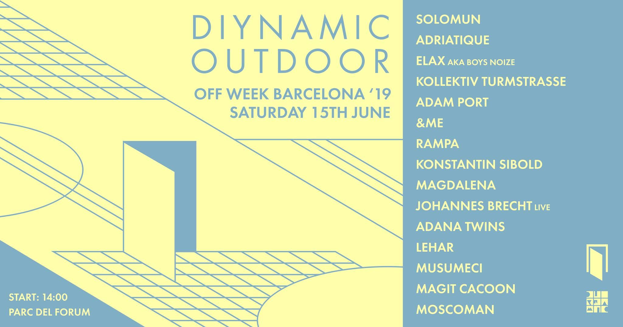 Off Week Festival 2019 - Diynamic Outdoor