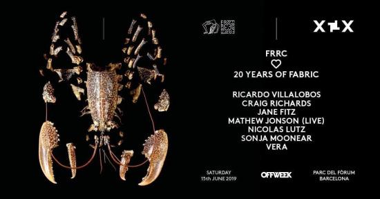 Off Week Festival 2019 - FRRC ♥ 20 years of fabric