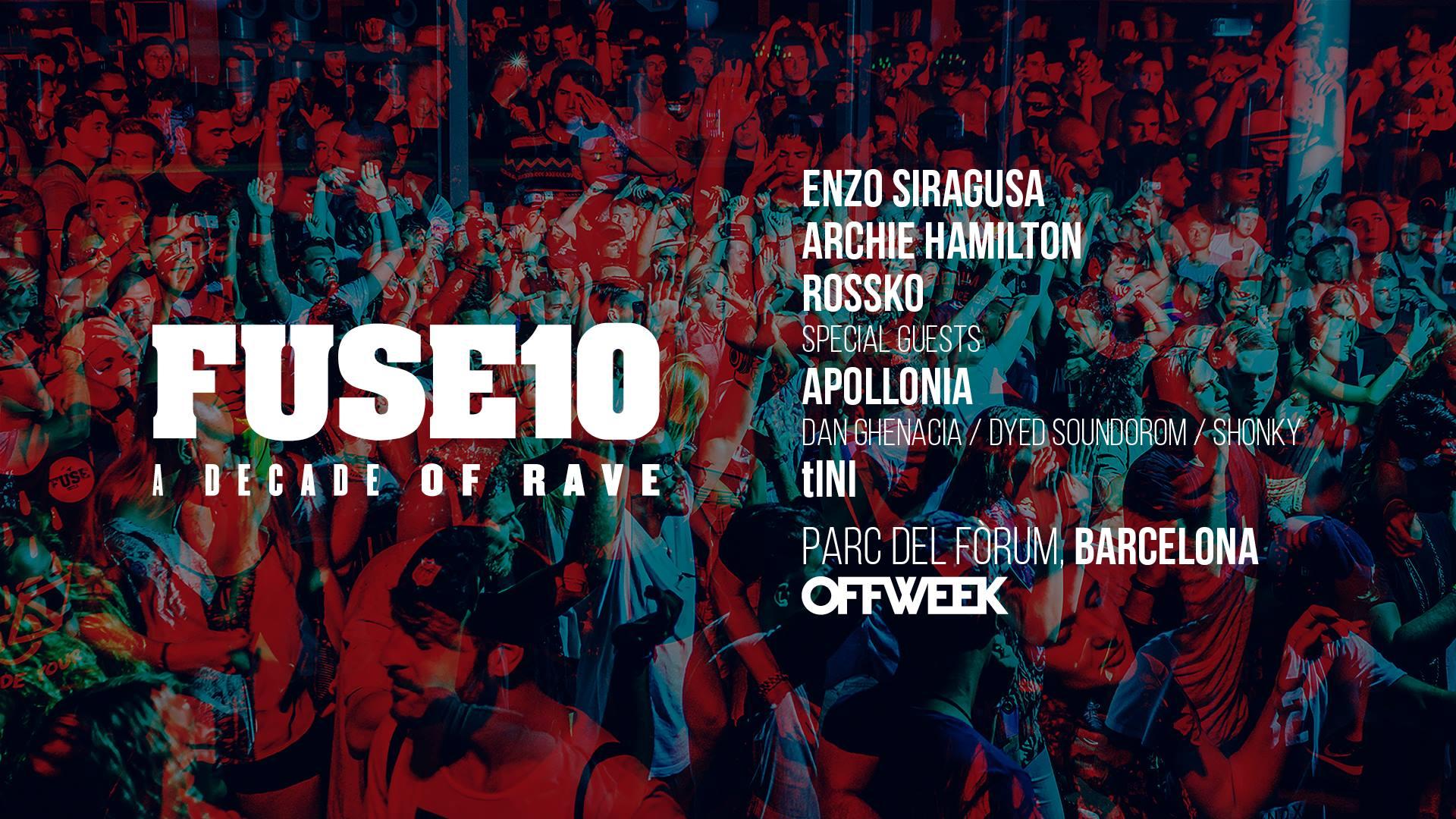 Off Week Festival 2019 - Fuse10