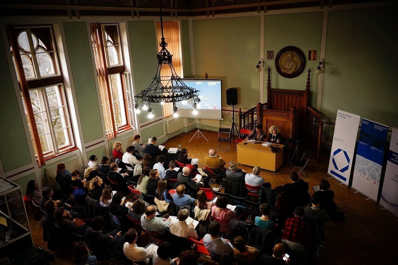 Sighişoara Colegiul Joseph Haltrich dezbatere Europa Nostra Patrimoniul european