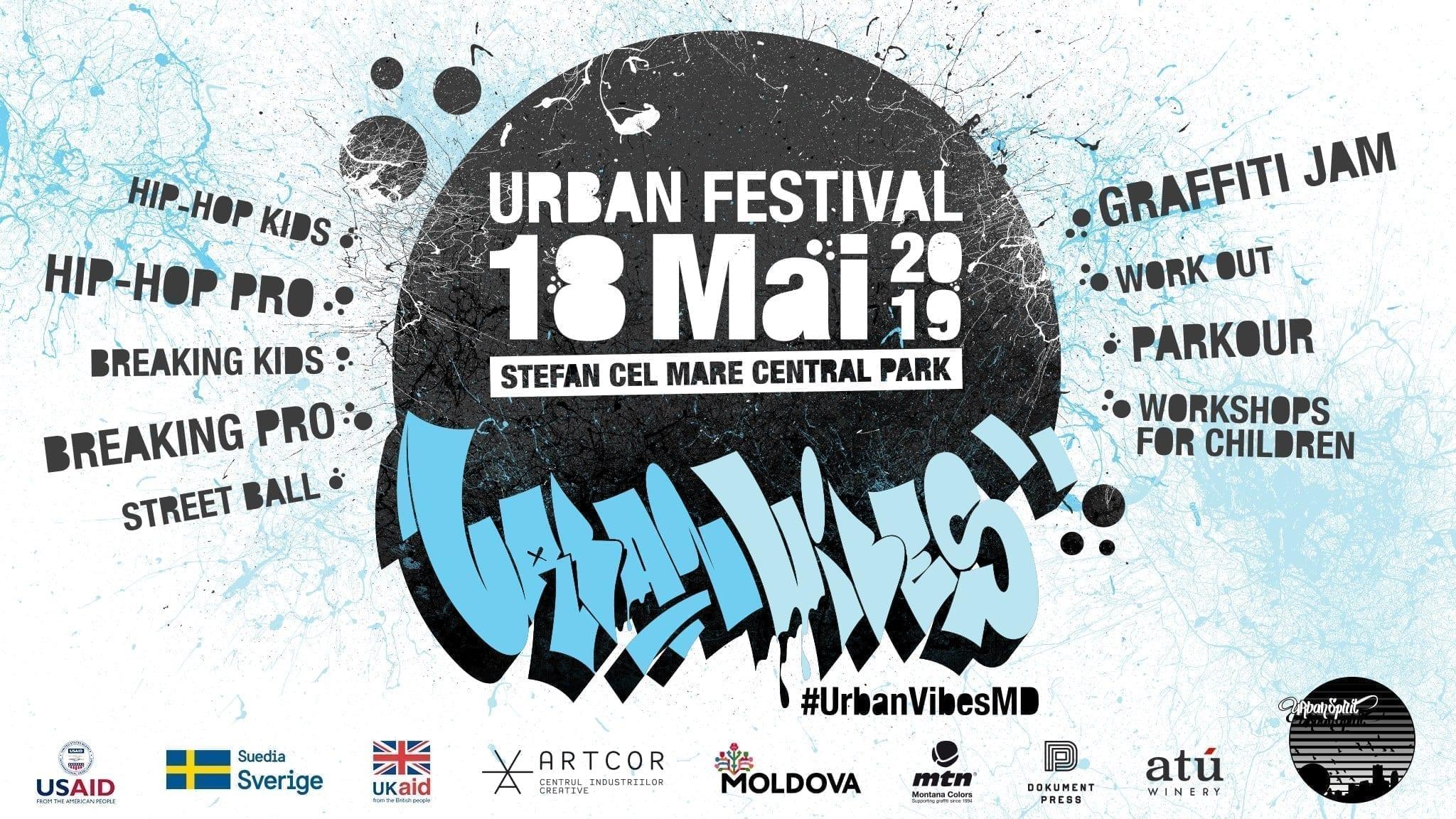 Urban Vibes vol.3 @ Chisinau, Moldova