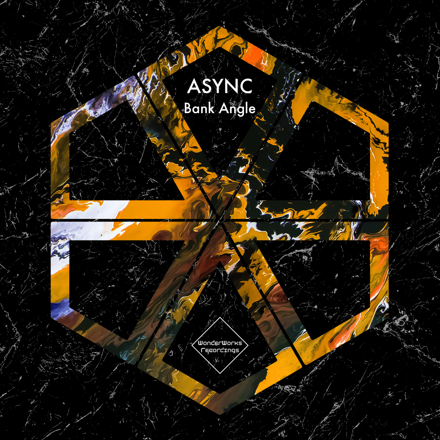 """Bank Angle"" is the new ep by Async on WonderWorks Recordings"
