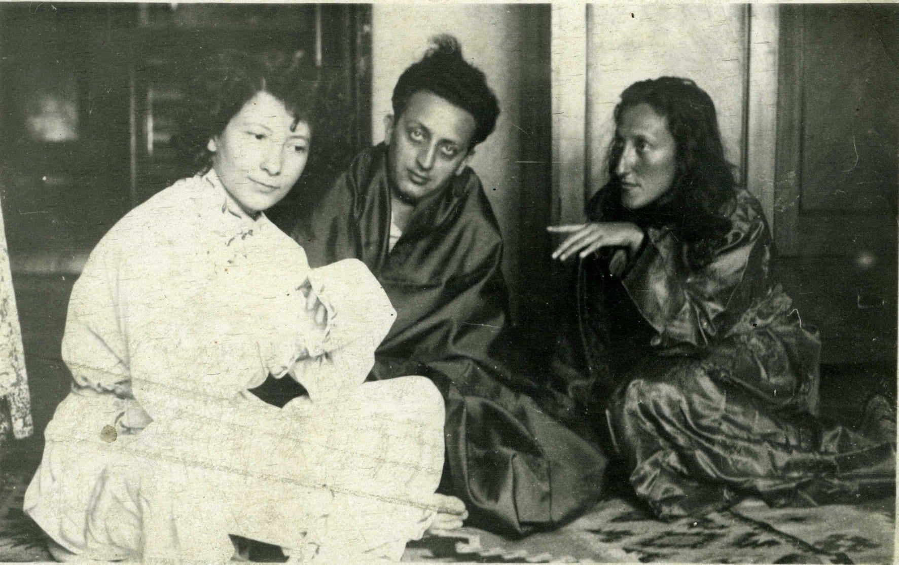 Yvonne Hasan, Petre Solomon, Nina Cassian
