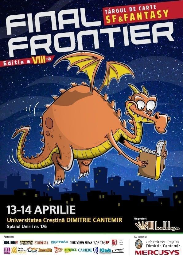 #DragoniiDeBibliotecă au parte de multe Noutăți SF la a opta ediție Final Frontier – singurul târg de carte SF&;Fantasy