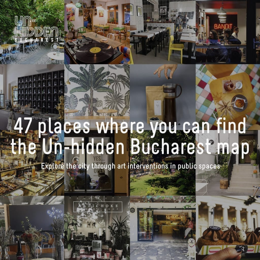 47 places where you can find the Un-hidden Bucharest map