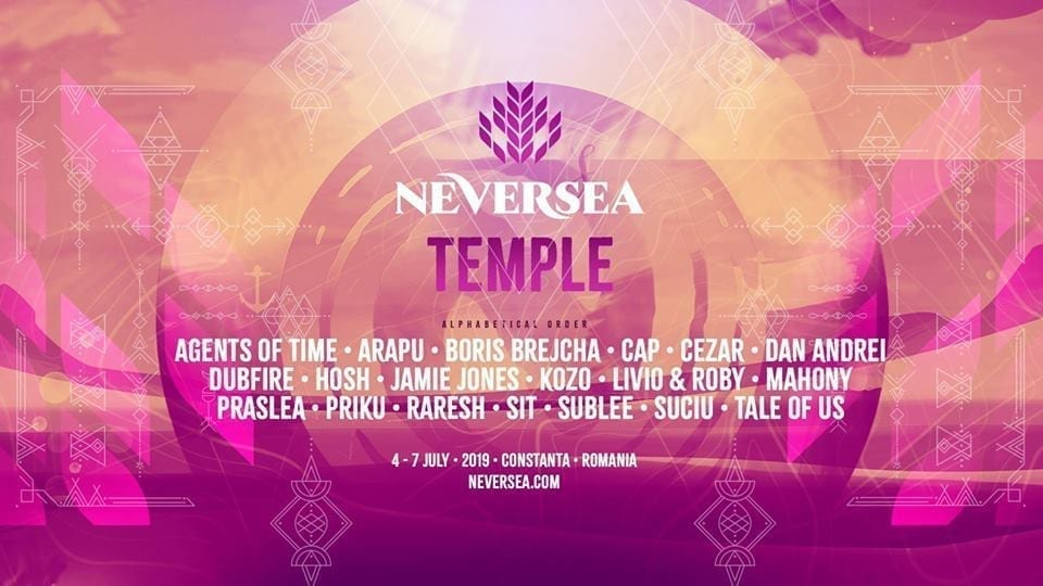 TEMPLE Stage @ Neversea 2019