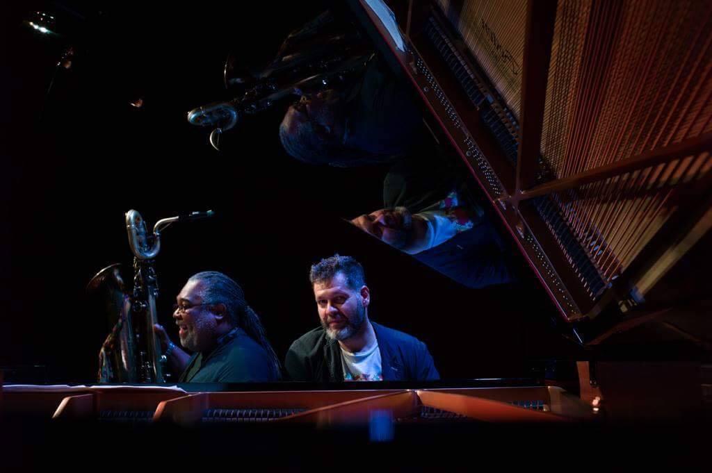 Chamber Jazz: Alex Harding & Lucian Ban | Dark Blue