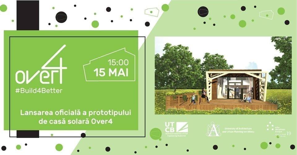 Deschiderea Casei Over4 în București