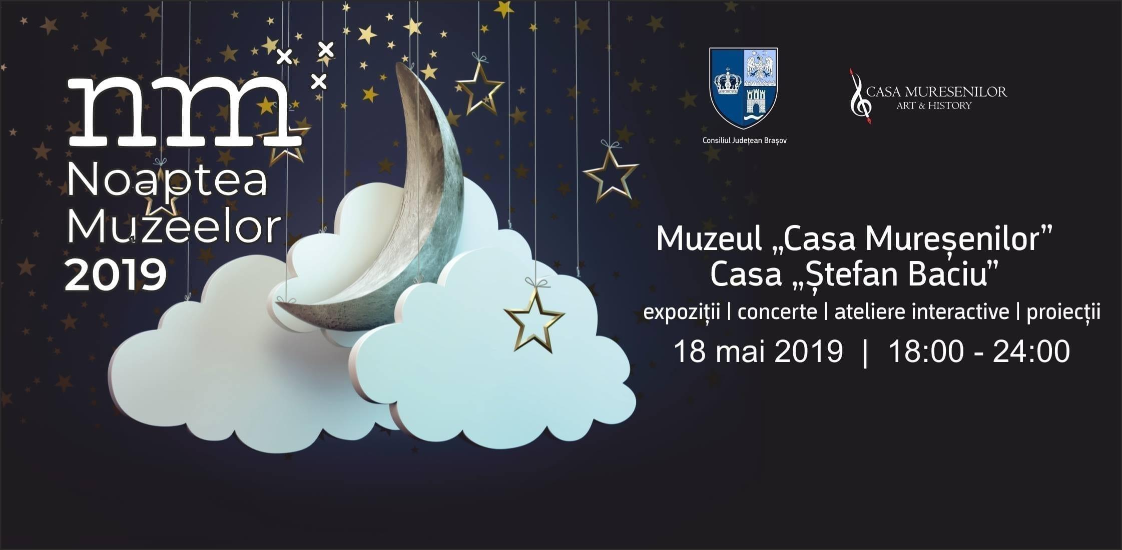 Muzeul Casa Mureșenilor Brașov & Casa Memorială Ștefan Baciu @ Noaptea Muzeelor 2019
