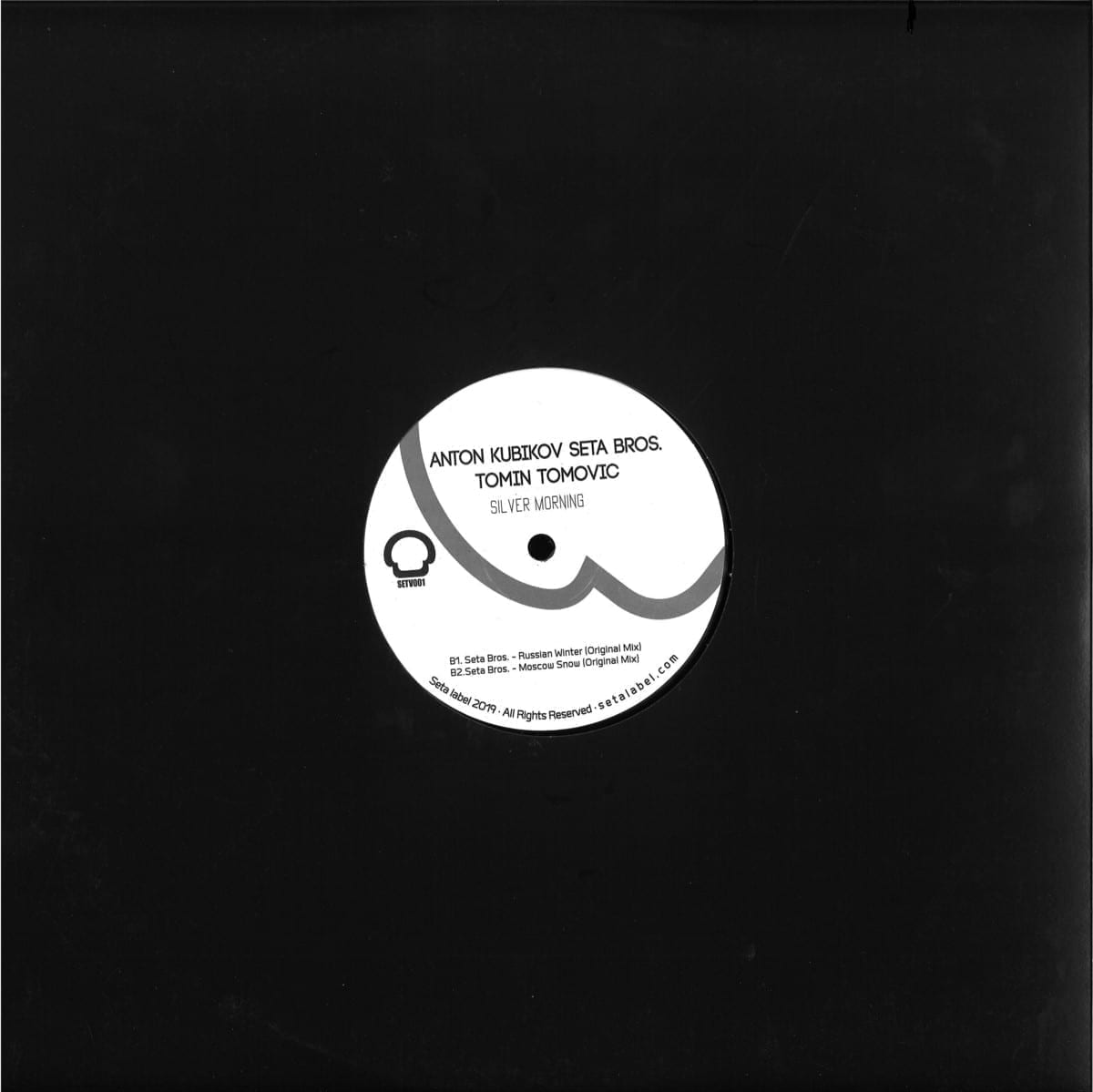 Anton Kubikov Seta Bros - Silver Morning [Seta Label] back