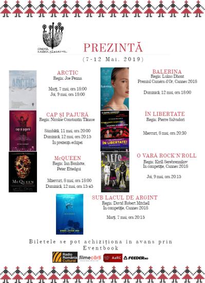 Program Cinema Muzeul Țăranului 7-12 Mai, 2019