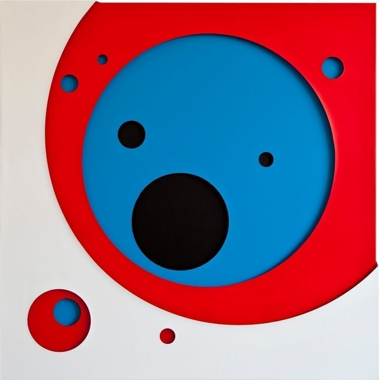 JAN KALÁB - Red Circle, Red Gallery, London (2014)