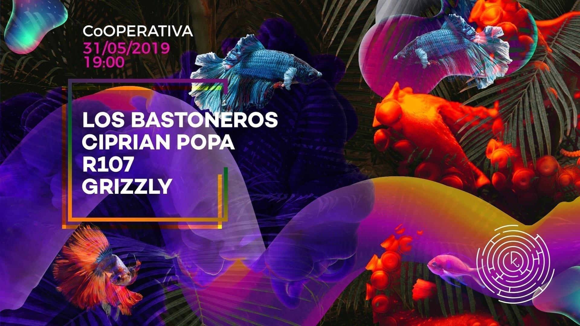 Kapture with Los Bastoneros, Ciprian Popa, R107, Grizzly