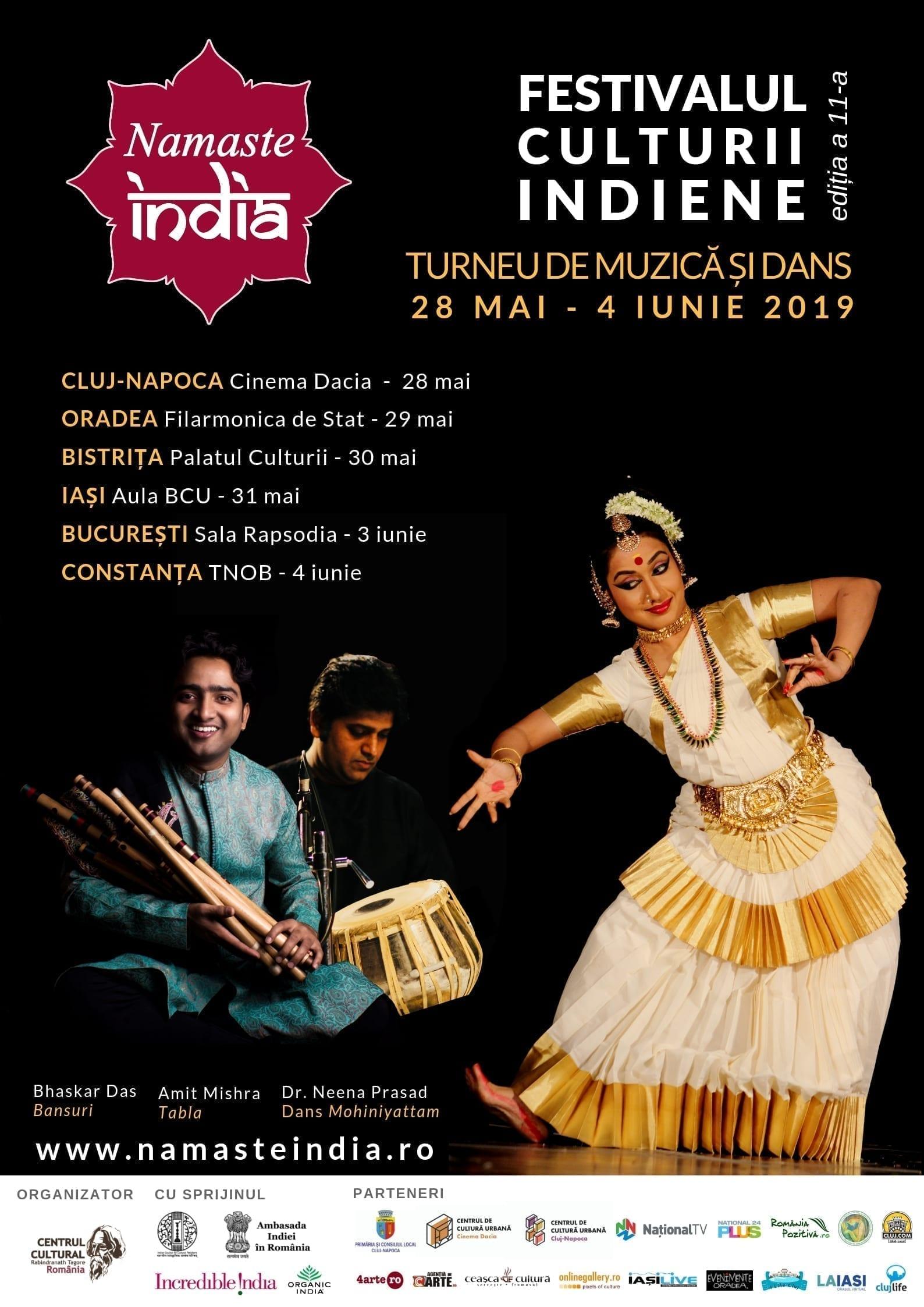 """Festivalul """"Namaste India"""" la București"""