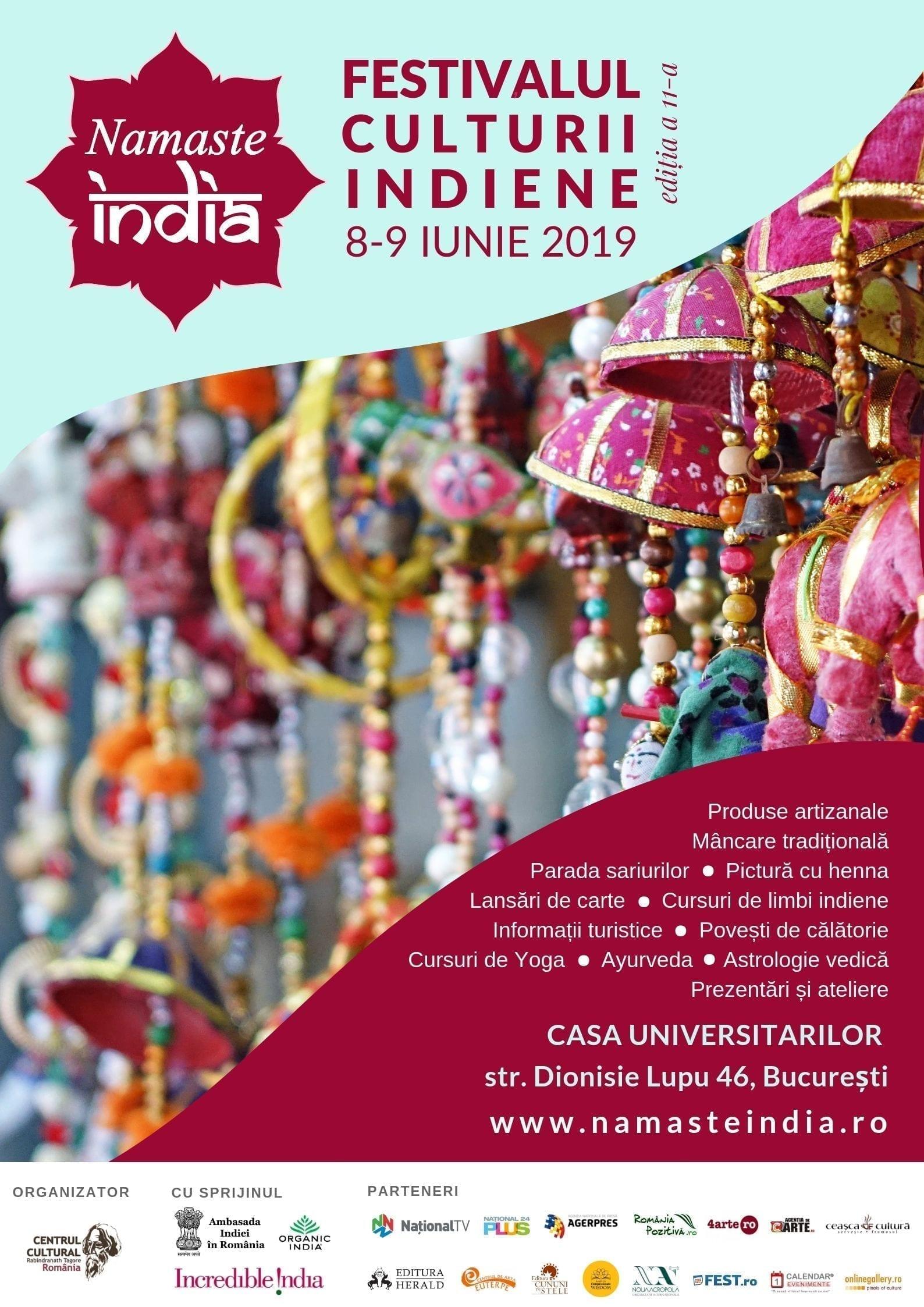 """Festivalul """"Namaste India"""" la Bucureşti"""