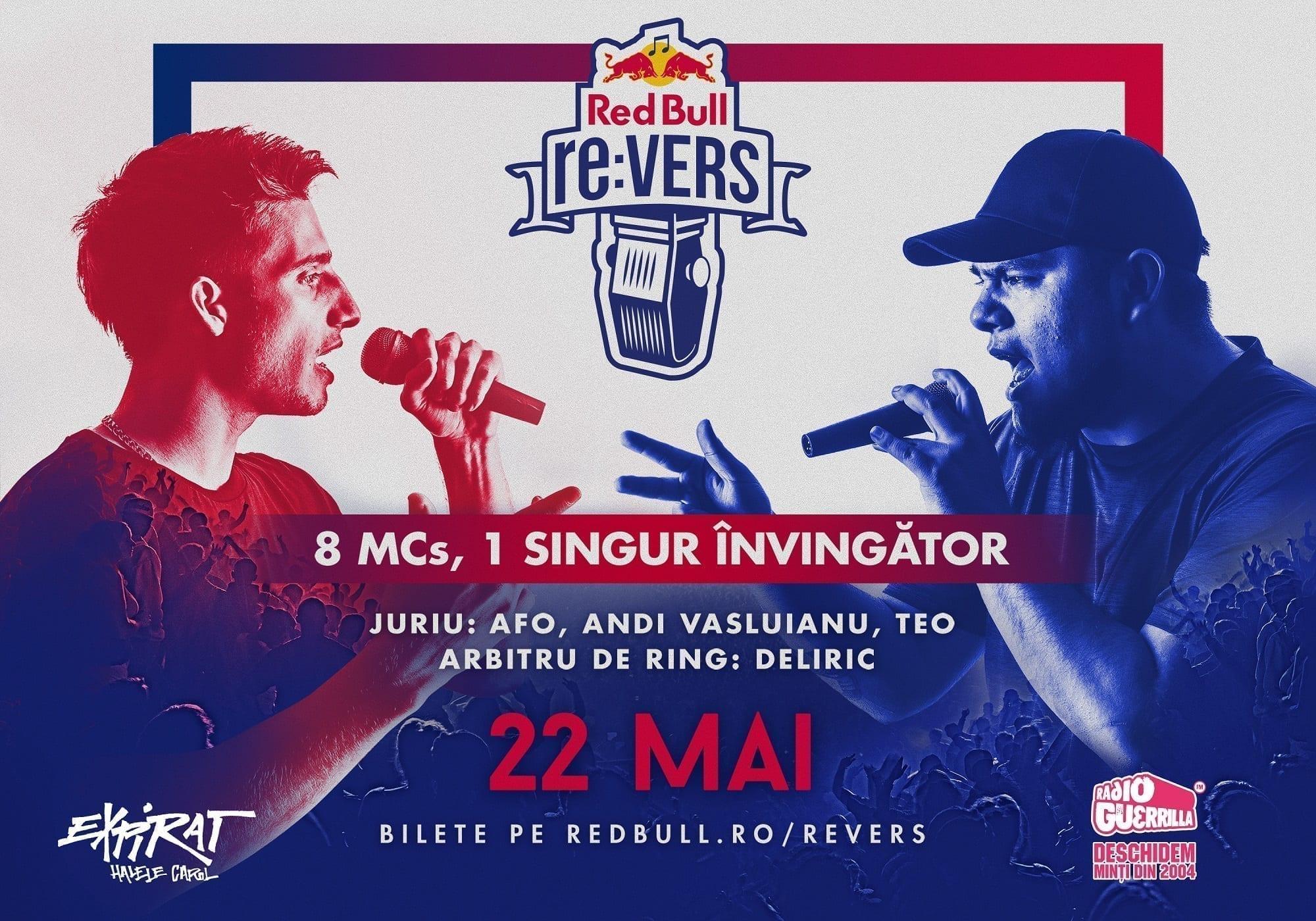 Red Bull re:VERS - 8 dintre cei mai buni MCs din țară se bat în rime