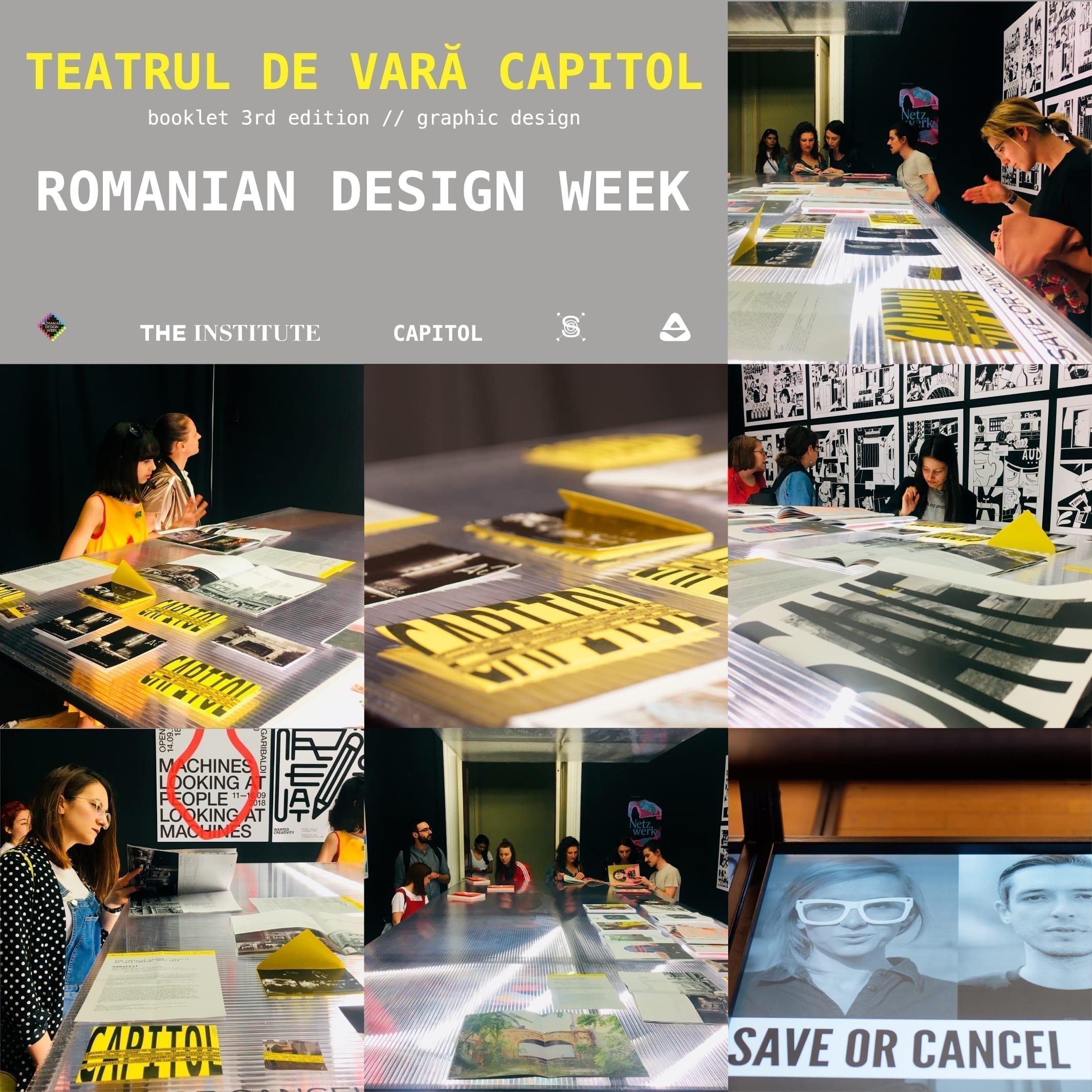 BTLT CAPITOL @ Romanian Design Week & Cartierul Creativ