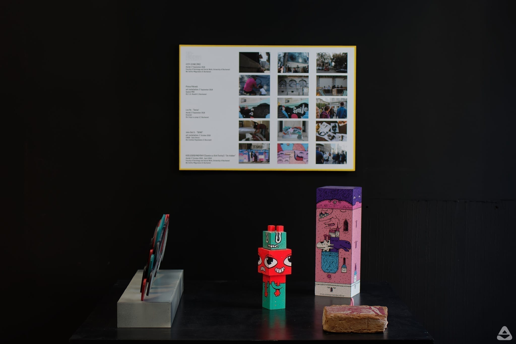 BTLT (Been There Liked That): feeder.ro at Romanian Design Week RDW 2019 Un-hidden Bucharest street art exhibition Save or Cancel