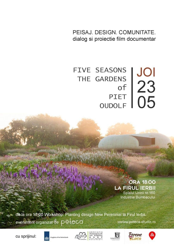 Peisaj | Design | Comunitate: FIVE SEASONS - The Gardens of Piet Oudolf
