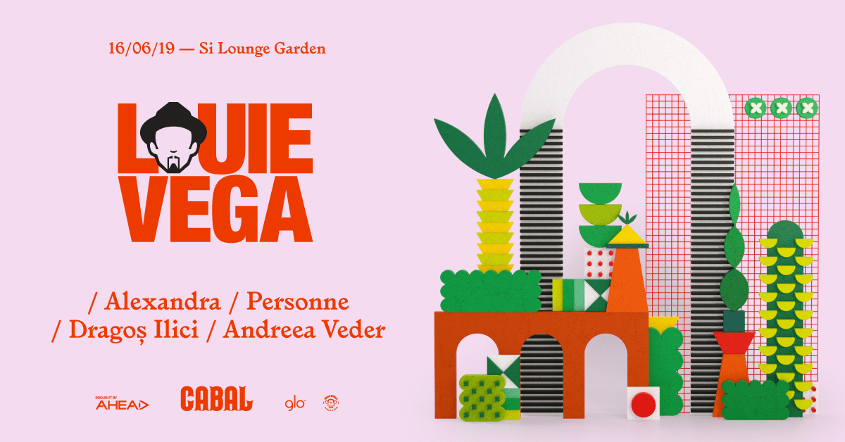 CABAL 10 with Louie Vega, Dragos Ilici, Alexandra, Personne, Andreea Veder @ Si-Lounge