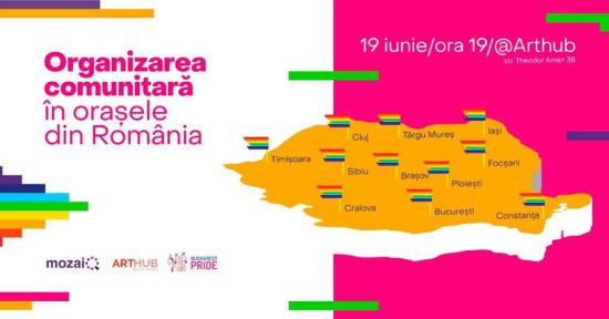 Organizare comunitară în orașe din RO | Bucharest Pride 2019