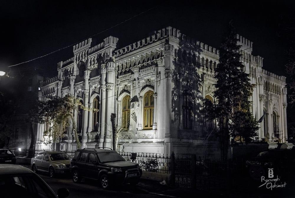 Casa Universitarilor strada Dionisie Lupu