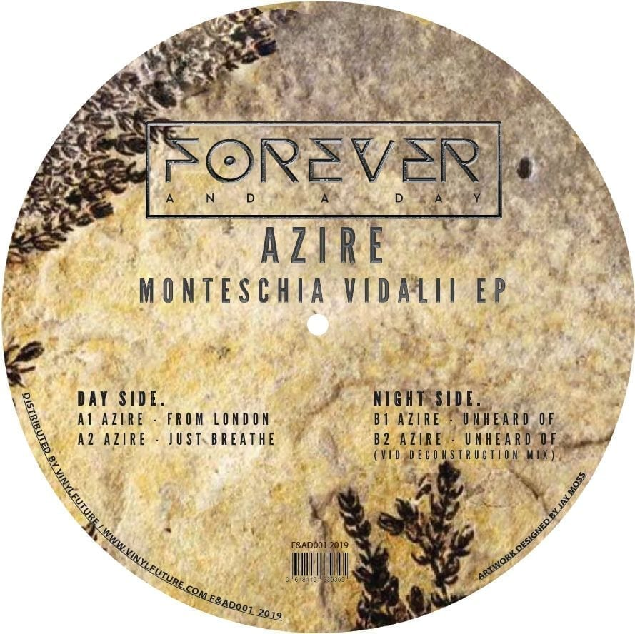Azire - Monteschia Vidalii EP [Forever And A Day] back