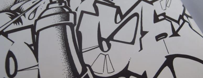 Graffiti Style Coloring Book Interview with Tobias Barenthin Lindblad (SE) – Un-hidden Romania [en]