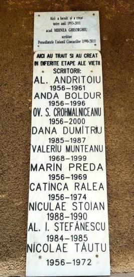 Poeti care au locuit in casa de pe Dionisie Lupu 74_a locuit acolo si Geo Saizescu