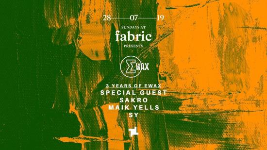 Sundays_at_fabric_3_years_of_EWax