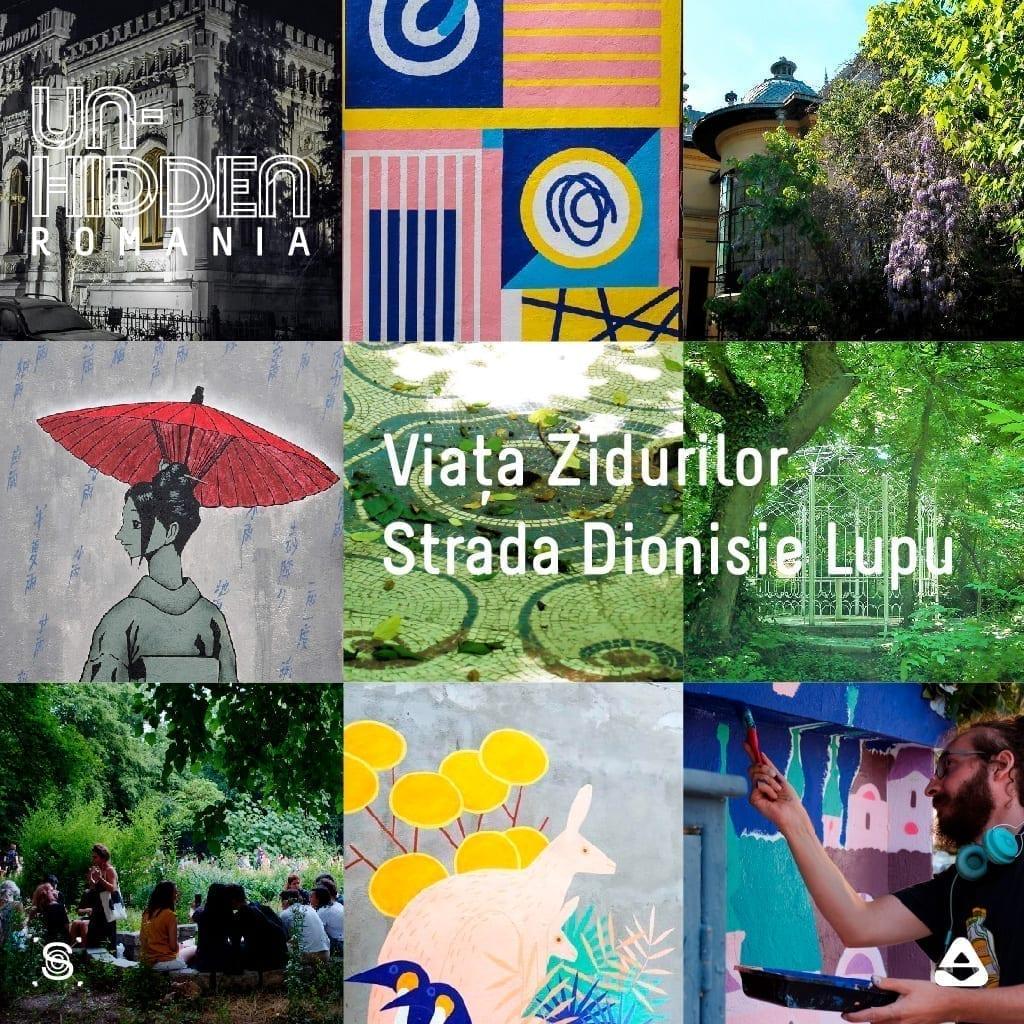 Un-hidden Romania - Viața zidurilor de pe Strada Dionisie Lupu