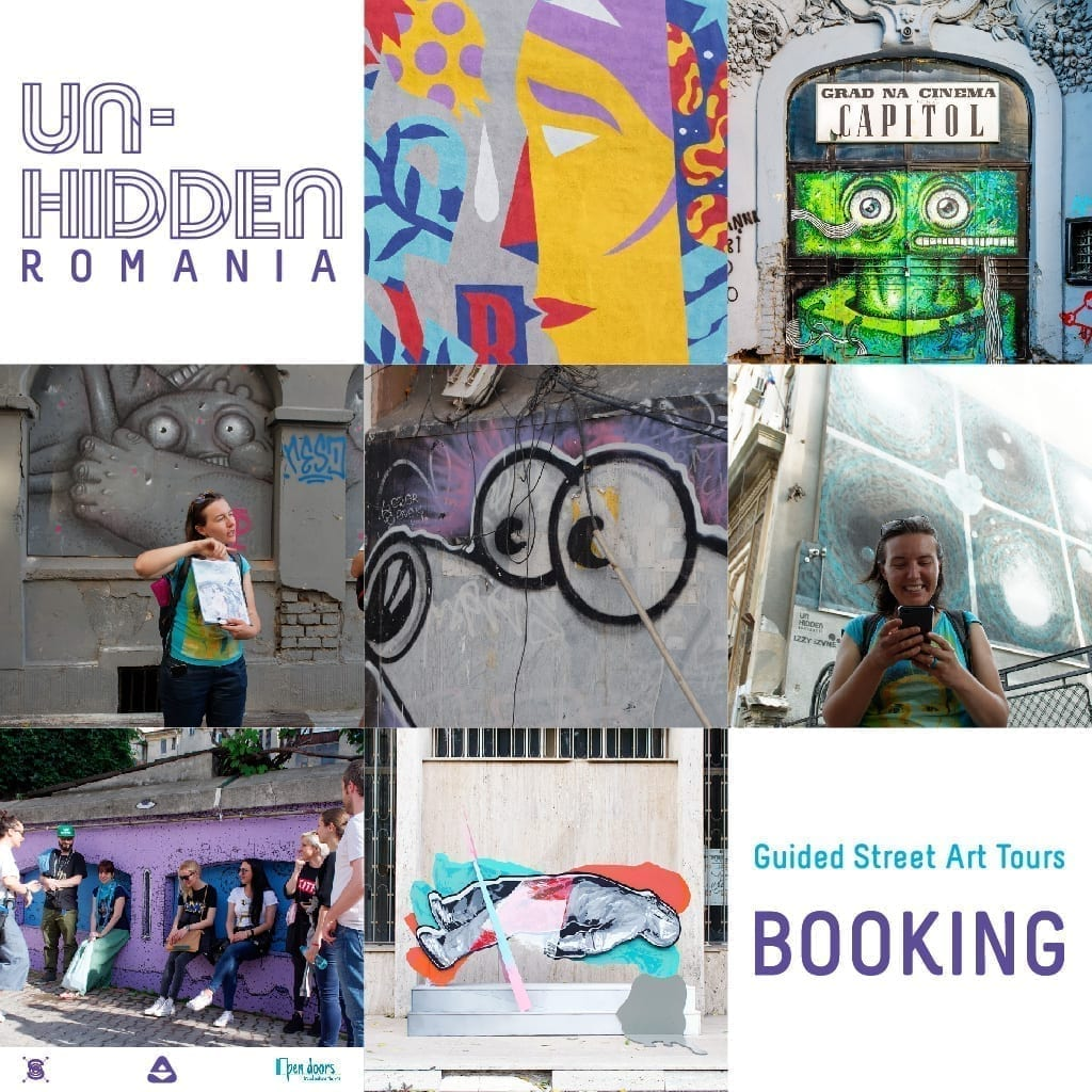 Un-hidden Romania x Open Doors Travel Outside the Box Street Art Tours Booking