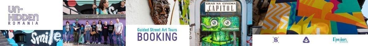 Un-hidden Romania street art tour Open Doors