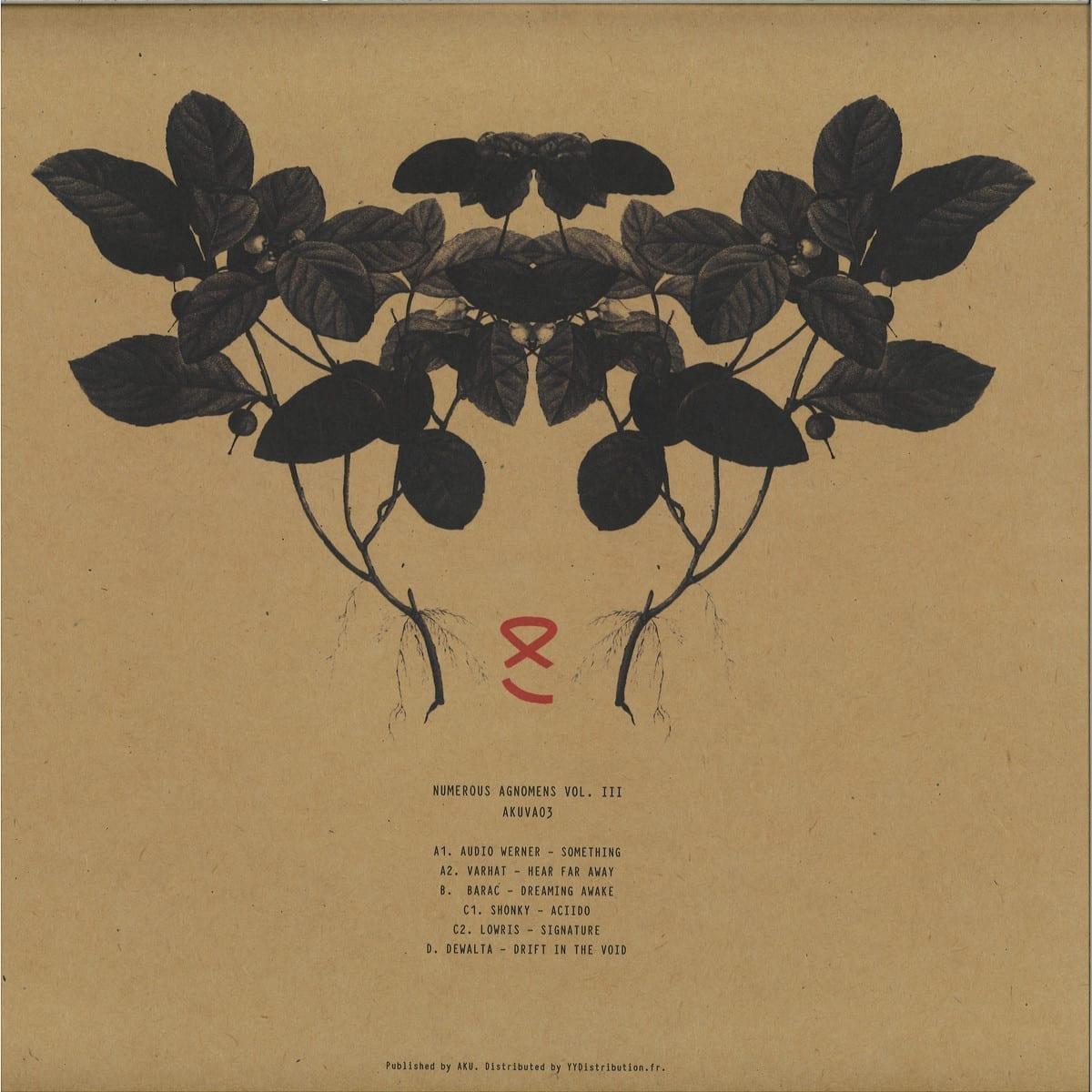 Various Artists - Numerous Agnomens Vol III [Aku] back