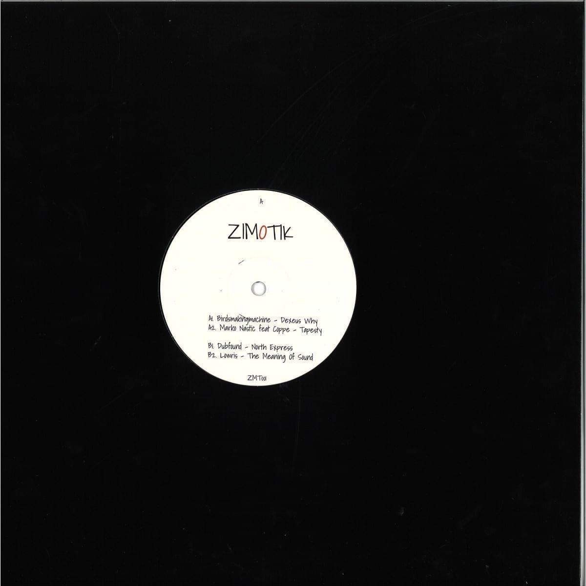 Various Artists - ZMT 001 [Zimotik] back