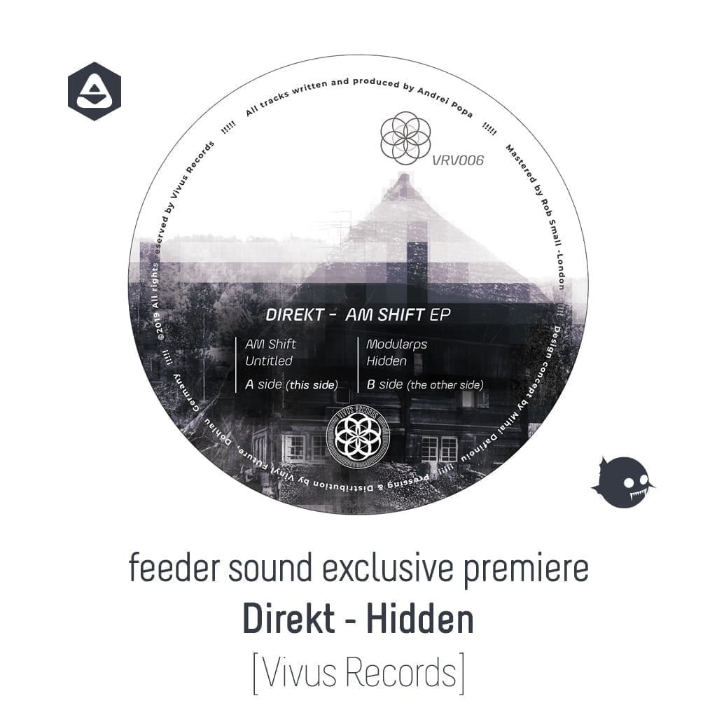 feeder sound exclusive premiere: Direkt - Hidden [Vivus Records]