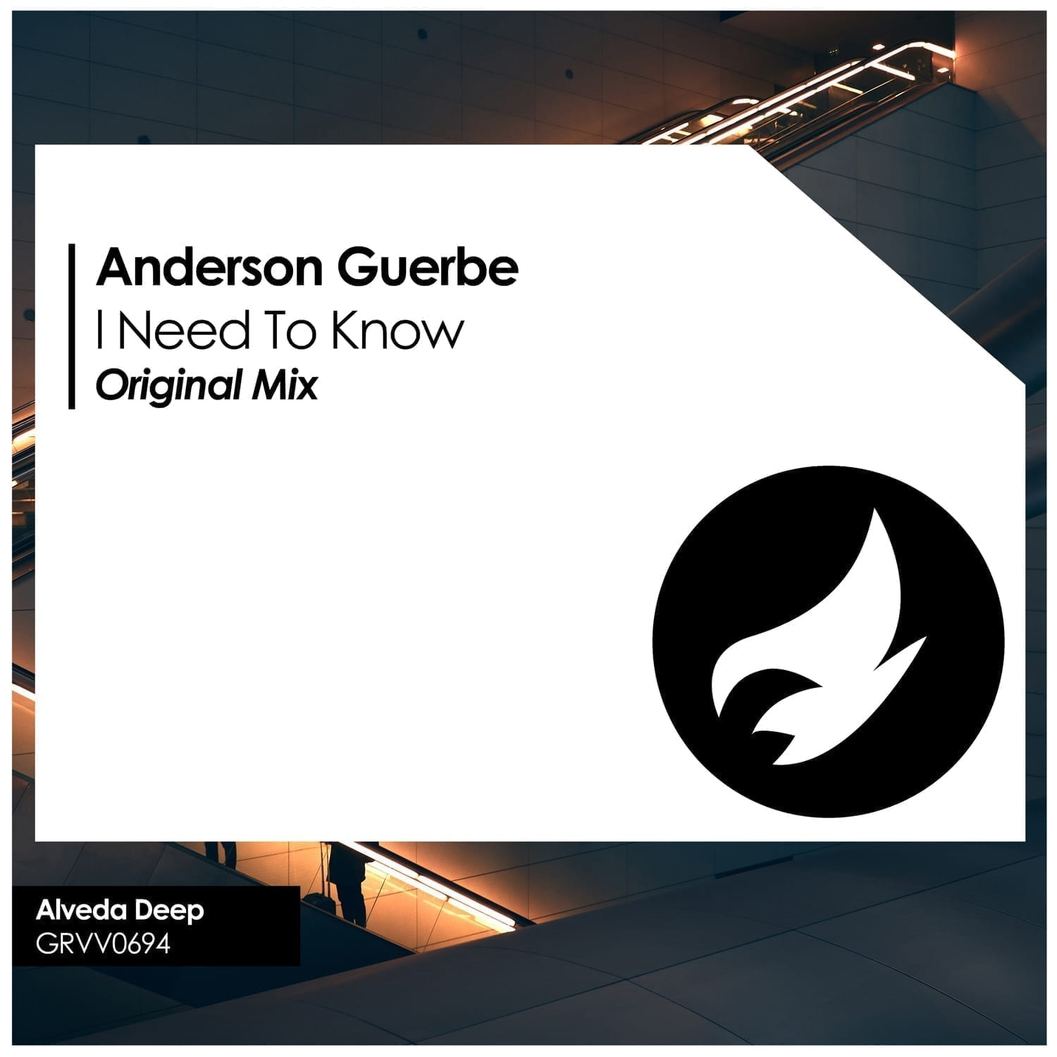 """Anderson Guerbe's new single """"I Need To Know"""" is out on Aveda Deep"""